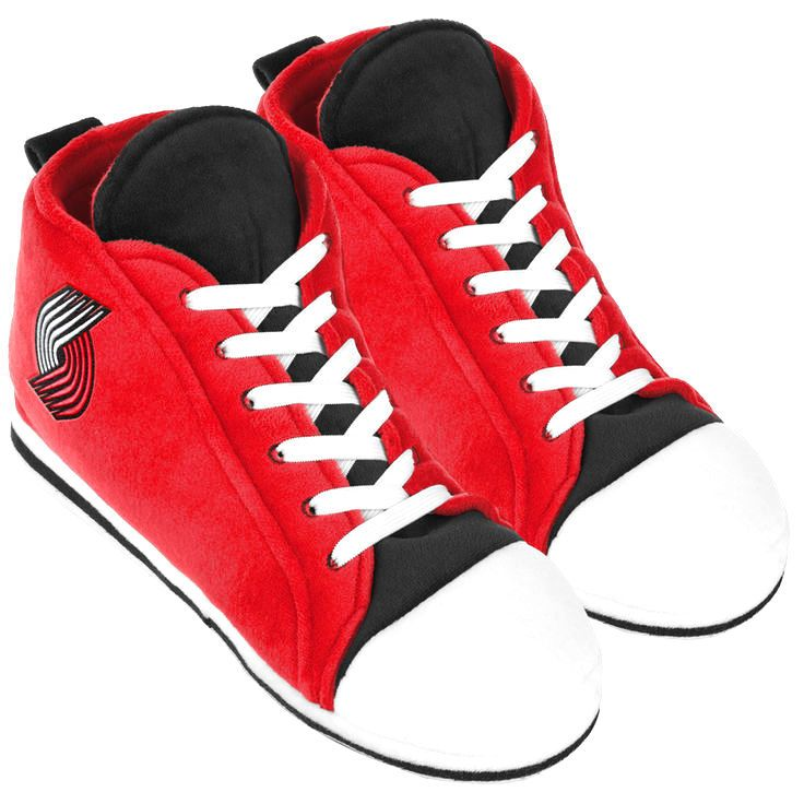 Portland Trail Blazers High Top Sneaker Slippers - $19.99