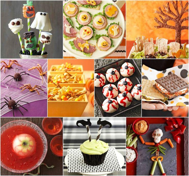 24 quick halloween party food - Halloween Buffet Food Ideas