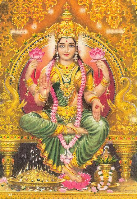 Goddess Lakshmi brings Prosperity