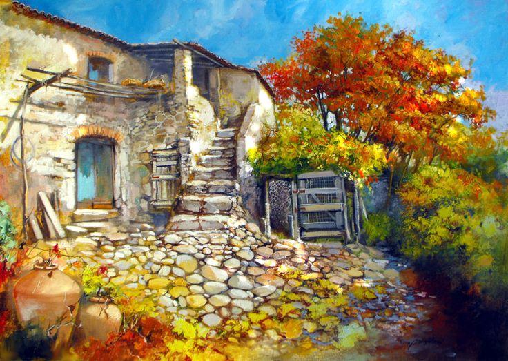 Farmshouse Garden ~ Francis Mangialardi
