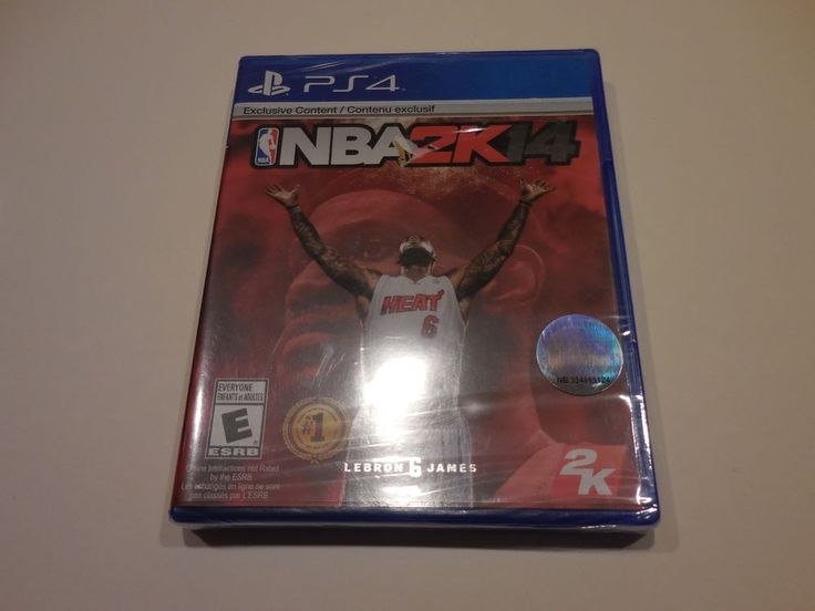 NBA 2K14 (Sony PlayStation 4, 2013) Factory Sealed