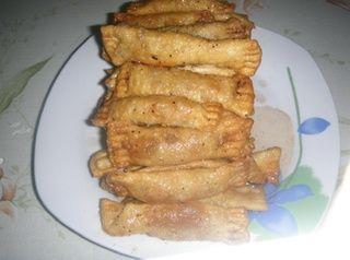 δάχτυλα κυριών, κυπριακή συνταγή