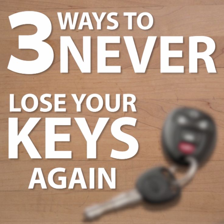 3 Ways to Never Lose Your Keys Again
