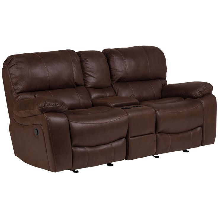 Porter Ramsey Brown Embossed Microfiber Power Dual Reclining Loveseat with Center Console (MP26016)  sc 1 st  Pinterest & Best 25+ Dual reclining loveseat ideas on Pinterest | Lazy boy ... islam-shia.org