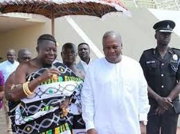 Ghana Elections; The President of Ghana and the c