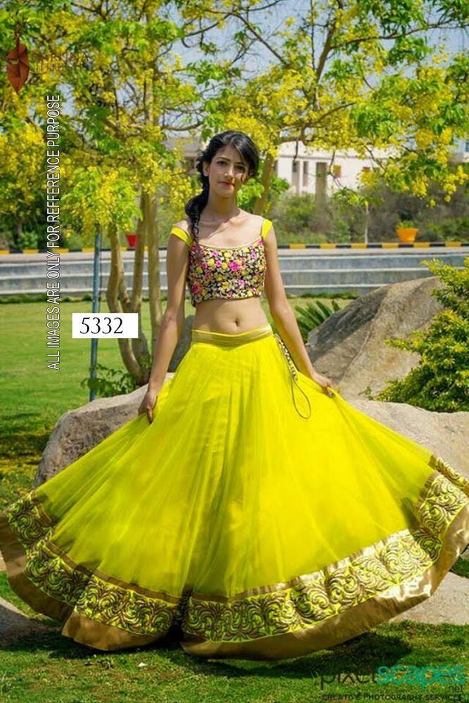 IS Bollywood Indian Pakistani Ethnic Designer Anarkali Party Wear Lehanga Choli #Lookbollywood #Choli #Lehanga