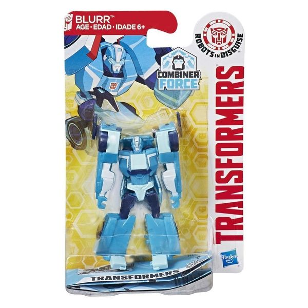 Review - Combiner Force Legion Class Blurr Transformers Robots In Disguise Figure