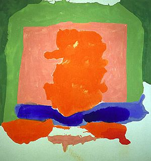 "Helen Frankenthaler's ""Small's Paradise"": Abstract, Google Search, Artist, 1964, Helen Frankenthaler, Painting"