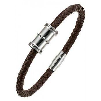 Ce bijou est un Bracelet homme Acier et cuir en Acier Gris de la marque All Blacks, de référence 682058.  Il s'agit d'un Bracelet Acier et cuir, style Sport  Les bijoux All blacks ont été conçu pour les hommes actifs. Ils sont élégants et robustes. -20% pendant les soldes !