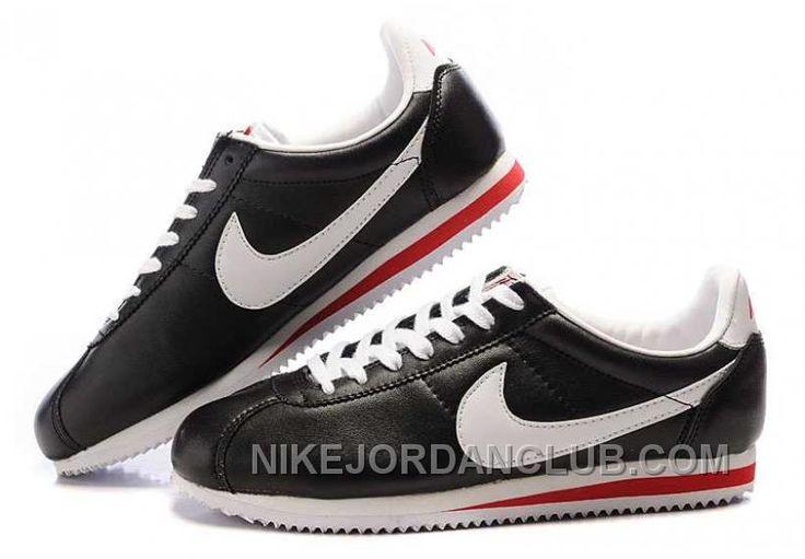 http://www.nikejordanclub.com/nike-cortez-leather-women-shoes-black-white-swmxg.html NIKE CORTEZ LEATHER WOMEN SHOES BLACK WHITE SWMXG Only $72.00 , Free Shipping!