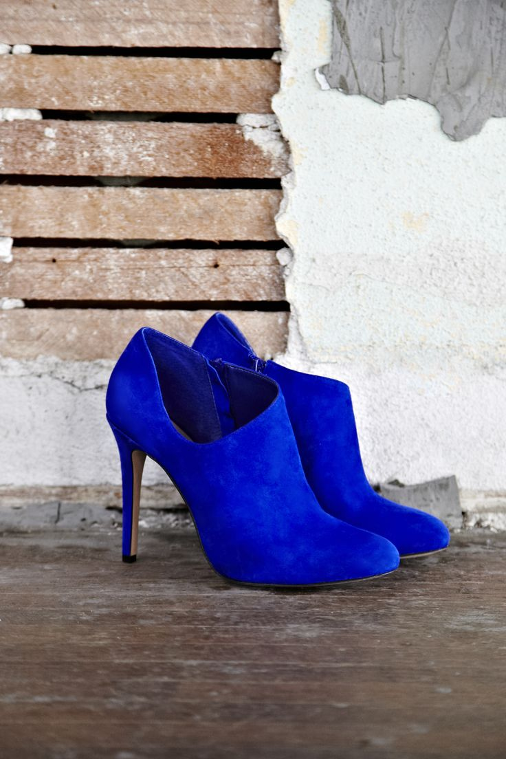 Beautiful Blue Suede Shoes!