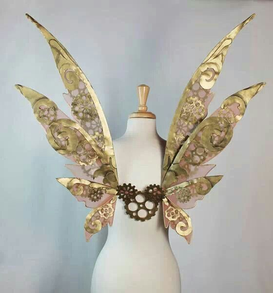 Steampunk wings. These are amazing