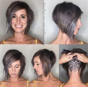 Inverted bob by Emily Anderson