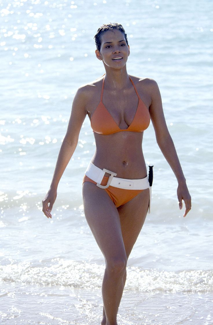 """Best cinematic swimsuit moments Jinx Johnson Actress: Halle Berry Movie: """"Die Another Day"""" Year: 2002"""