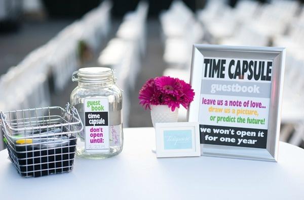 #LosAngelesWedding #GuestBook #TimeCapsule #TheNotWedding