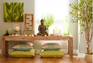 Find your Zen with this collection of spa-worthy fountains, furniture, and decor inspired by nature. Smaller fountains are relaxing additions to a desk or table, while larger styles can serve as eye-catching accent pieces indoors or out. Namaste!