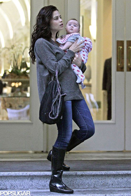 Baby Everly Tatum Is a Ray of Sunshine in Rainy Vancouver