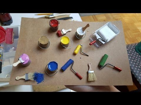 Painted Room - Dollhouse Miniature Madness and Tutorials