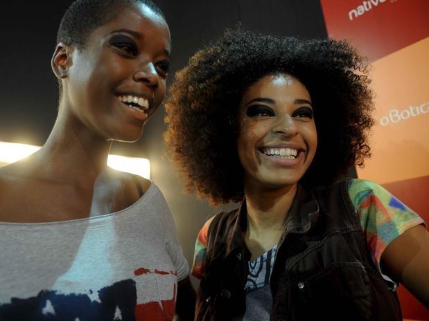 Beautiful Afro Brazilian Models Were Again Vastly Under