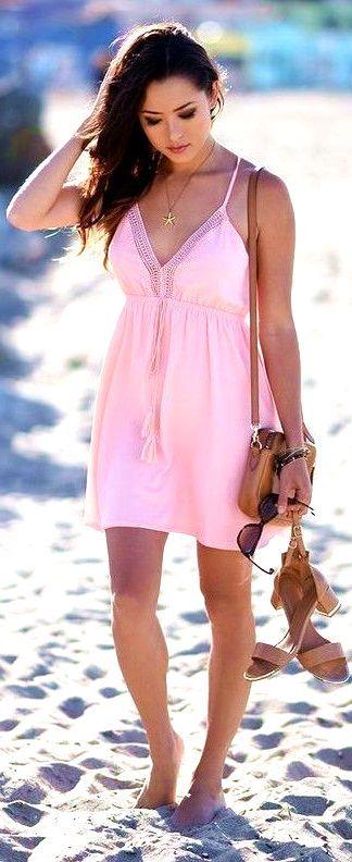 #summer #trending #outfitideas Coral Summer Dress  - more on http://ift.tt/2rynWxj