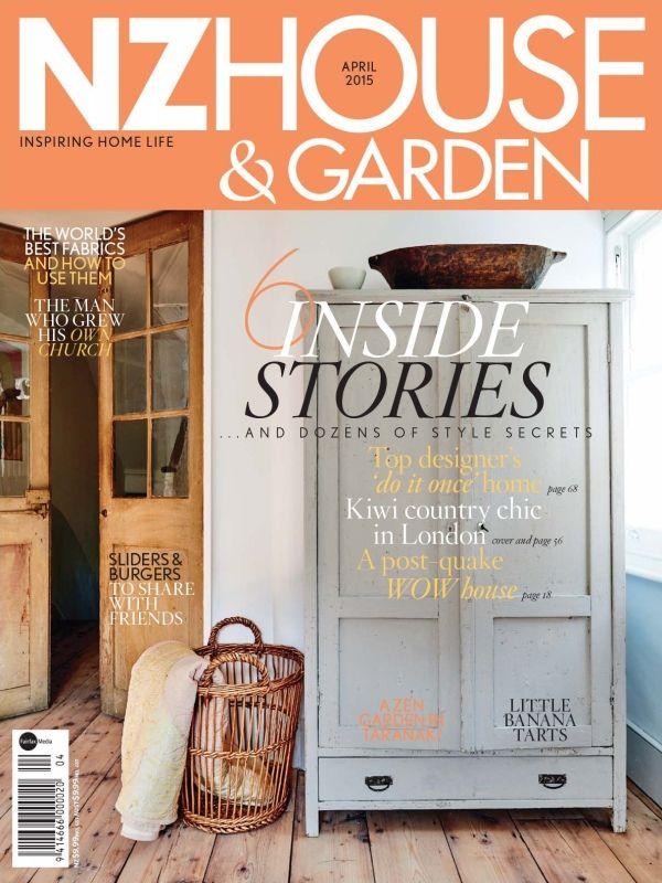 NzHouseandGardenMagazine has featured Home style Secrets & WOW houses topics in April 2015 issue