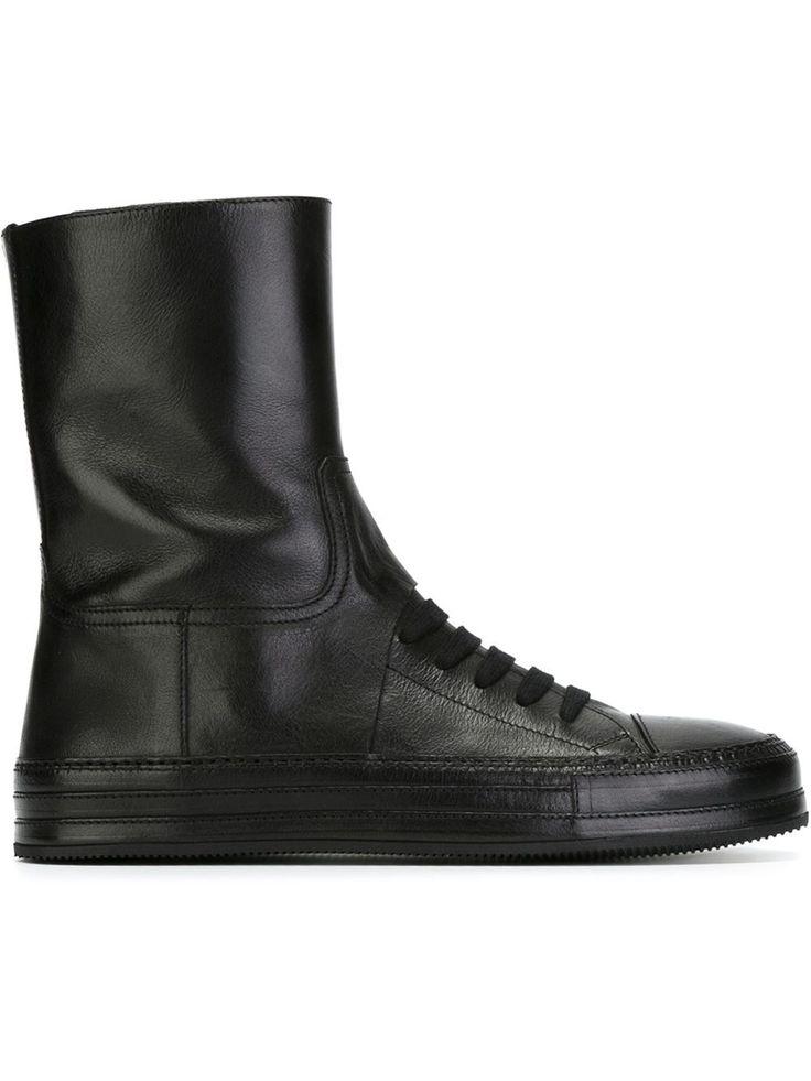 Ann Demeulemeester 'triad' Hi-top Sneakers - Raionul 4 - Farfetch.com