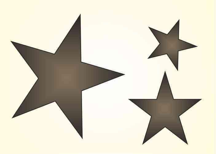 Fresh Details zu Maler Wandschablone Wandschablonen Schablone Stars stern Sterne