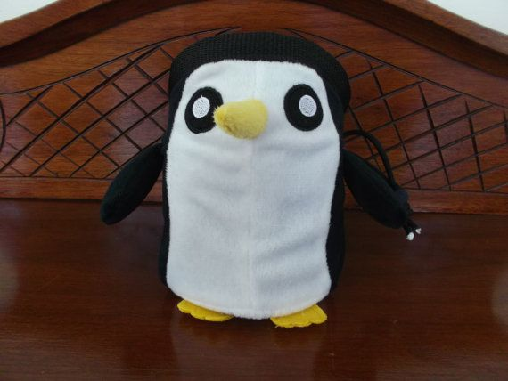 Penguin Rock Climbing Chalk Bag made from a by FiFiLouDesigns