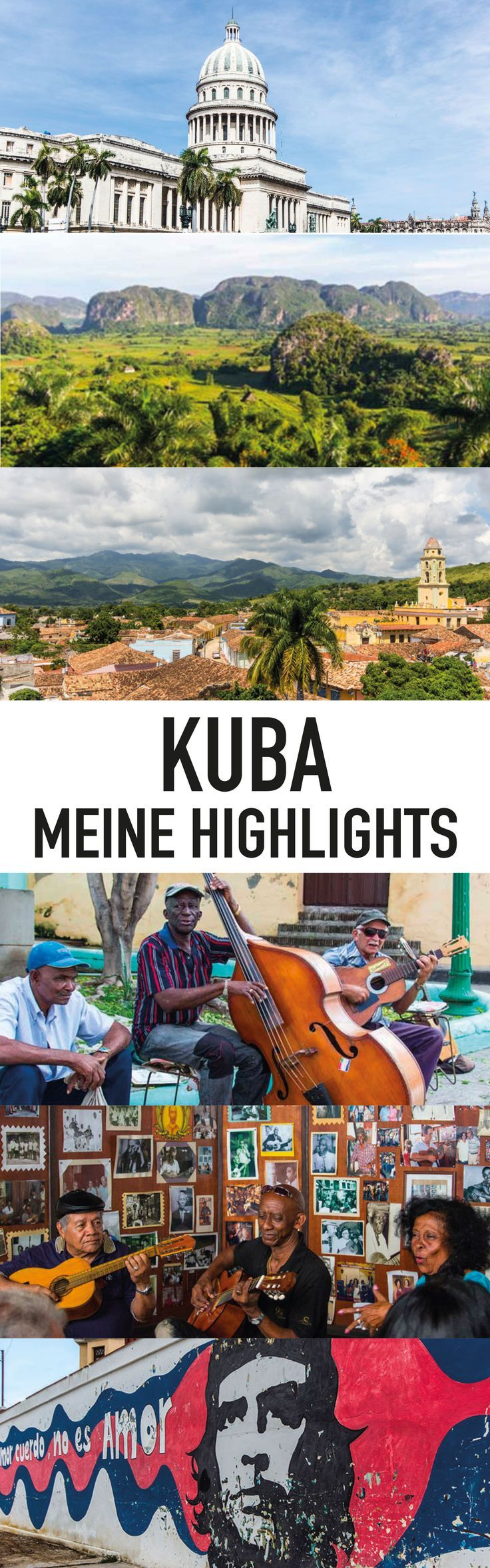 Kuba ist zu groß und es gibt zu viele Highlights und Sehenswürdigkeiten, um alle in zwei Wochen gesehen zu haben. Ich war auf meiner Kuba Rundreise für drei Wochen unterwegs. Diese Orte haben mich beeindruckt und waren meine persönlichen Highlights.