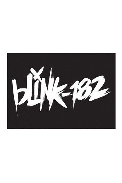 Blink 182 scratch sticker blink 182 merchband logossmiley