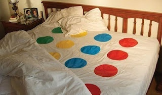 I'd love to find these twister sheets somewhere! < This isn't what