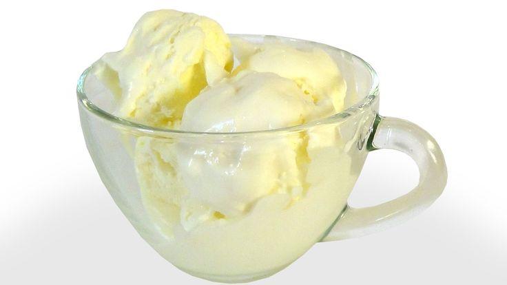 """Мороженое пломбир """"Проще простого"""" из трех ингредиентов"""