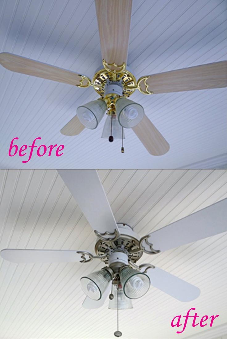 6 dollar ceiling fan update ceiling fan spray painting and 6 dollar ceiling fan update ceiling fan spray painting and ceilings mozeypictures Choice Image