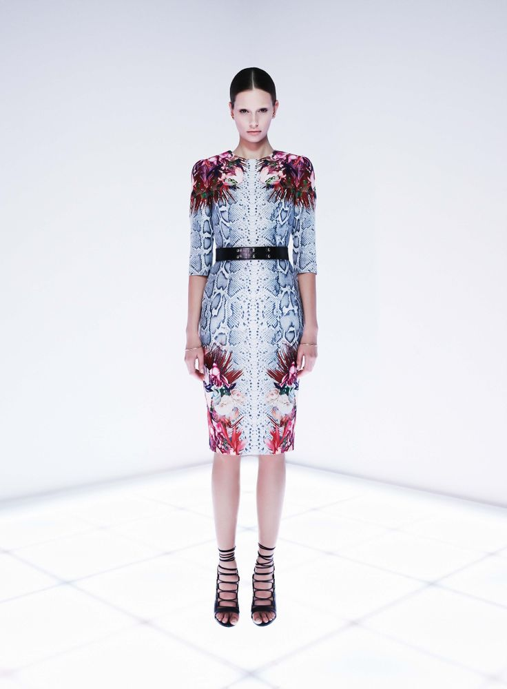 Vector Dress by CAMILLA AND MARC http://www.camillaandmarc.com/vector-dress-floral-snake-print.html