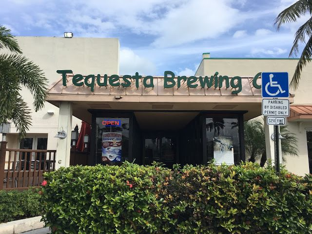 Brewery Visit to Tequesta Brewing in Tequesta Florida #craftbeer in #florida