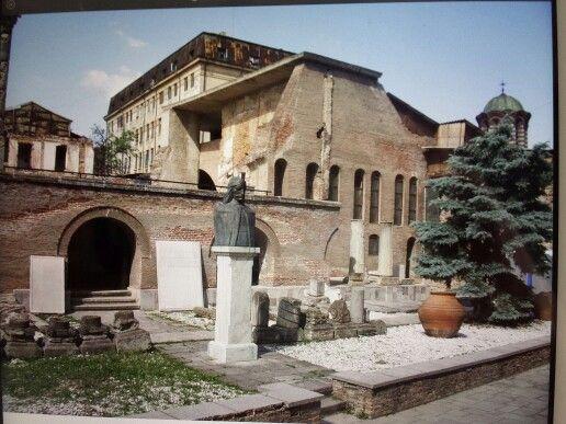 Curtea-Veche. Bucuresti, Romania