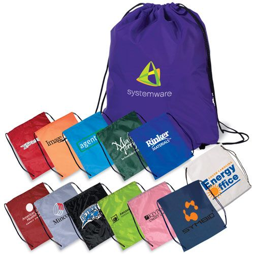 DRAWSTRING BAGS  Essential for Student Athletes. Comfortably load in athletic wear and sneakers for after school activities.