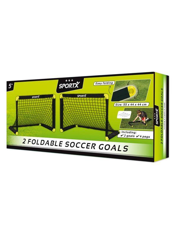 SportX Set van voetbaldoelen - MakroShop.be