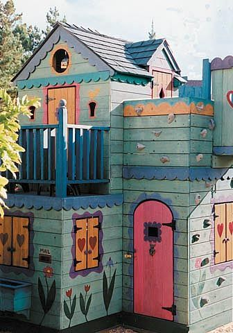 Barbara+Butler-Extraordinary+Play+Structures+for+Kids+-Le+Petit+Chalet+with+Swings