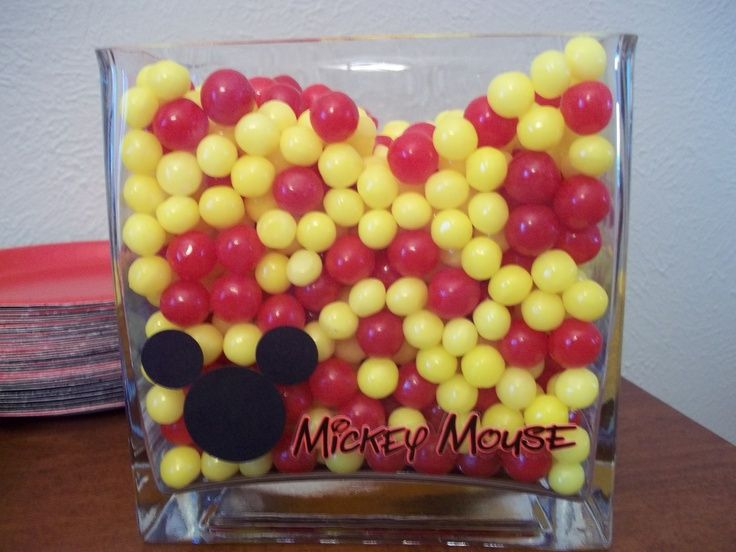 mickey mouse candy table mickey mouse birthday party