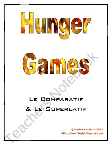hunger games comparison essay ideas