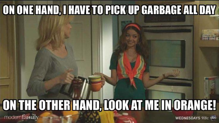 Sarah Hyland as Haley -- Modern Family Memes - Modern Family -© ABC.com
