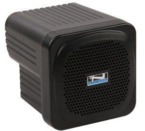 """Anchor Audio, Small Speaker Monitor Deluxe Package w/ UltraLite Mic, AN-MINIDP. AN-MINIU1 AC/DC Battery Powered Speaker Monitor. Comes with a built-in 16 channel UHF wireless receiver and hands-free UltraLite mic. Reaches crowds of 100+ and has 4.5"""" woofer & 30W amplifier. Line Input for audio source (iPod, MP3, or CD player) & Line Output for daisy chain of multiple units. Phantom-powered Input for Electret-type Microphone (Mic-50 sold separately)."""