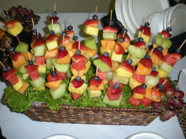 Love This Instead Of A Traditional Fruit Platter... And Iu0027m Thinking