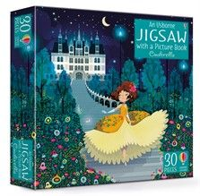 Usborne Jigsaw with Picture Book - Cinderella