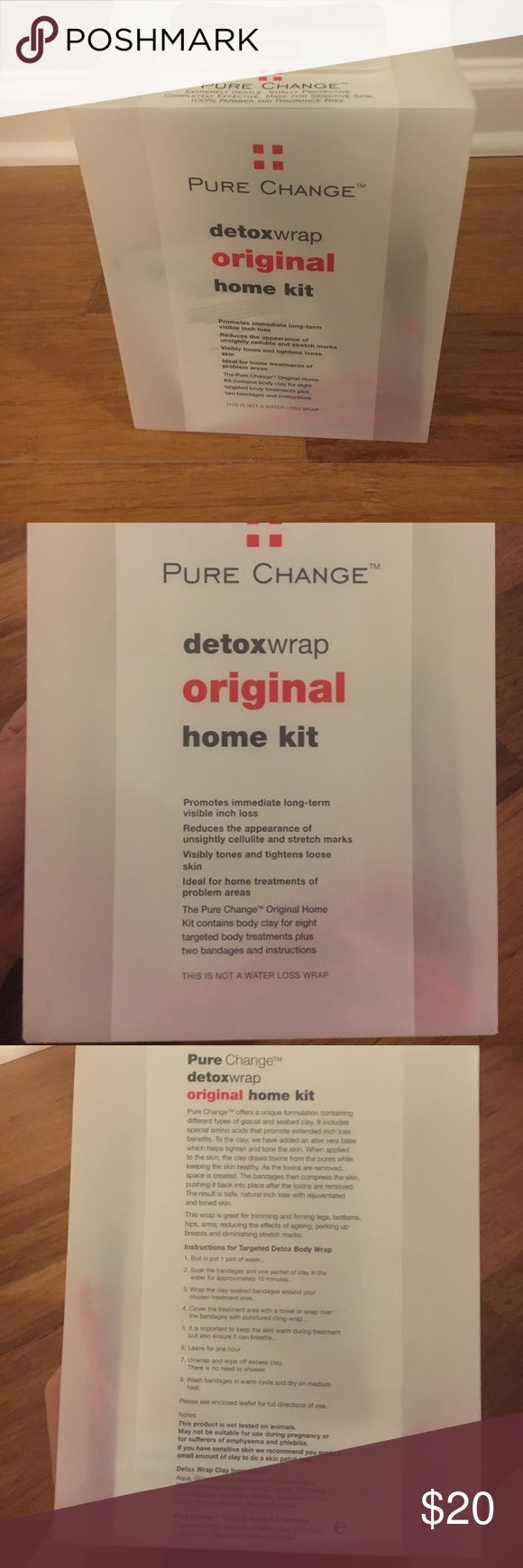 Detox wrap never used or opened Reduces cellulite, tones and tightens Accessories