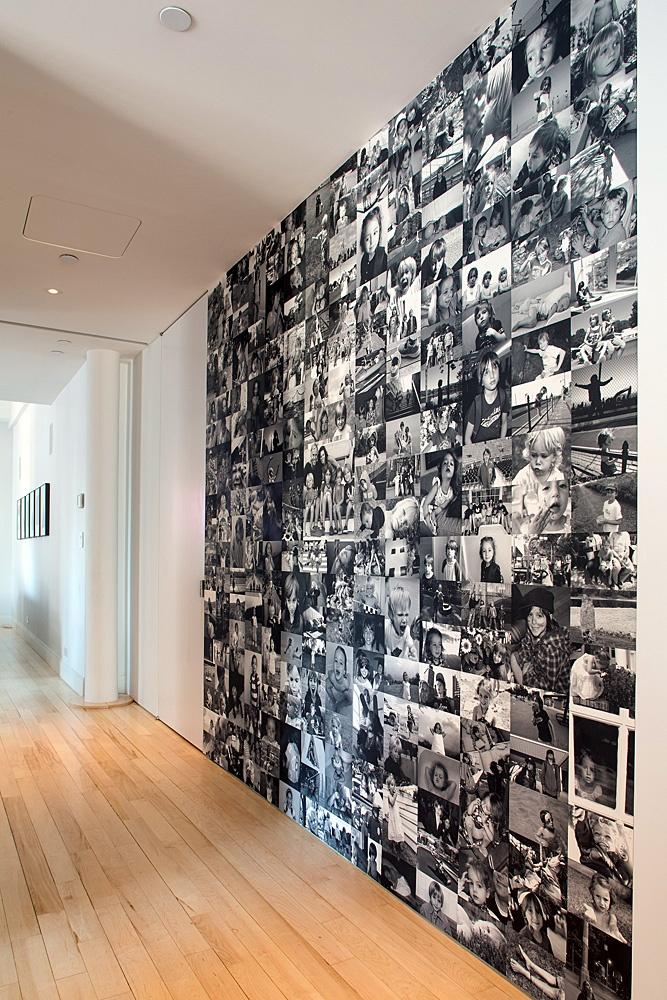 Bij kantine een soort wand maken, waar we zelf foto's op kunnen hangen / plakken van alle uitjes: informele sfeer