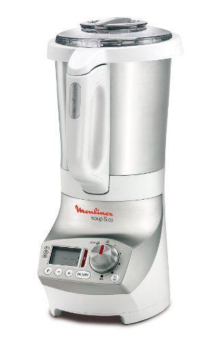 Moulinex LM9031 Standmixer Koch-Mix-Automat Soup & Co / 1100 Watt / 1,8 Liter / Edelstahlbehälter / weiß:Amazon.de:Küche & Haushalt