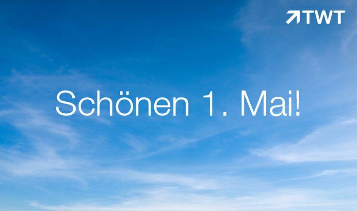 Wir wünschen Euch einen schönen 1. Mai! #mai #feiertag