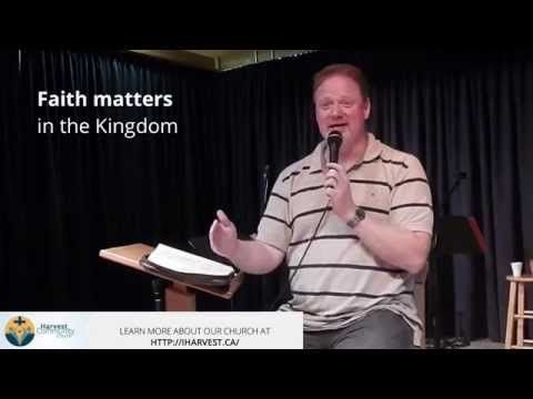 Trevor Lund of shares with Harvest Church Beaumont why Faith matters in